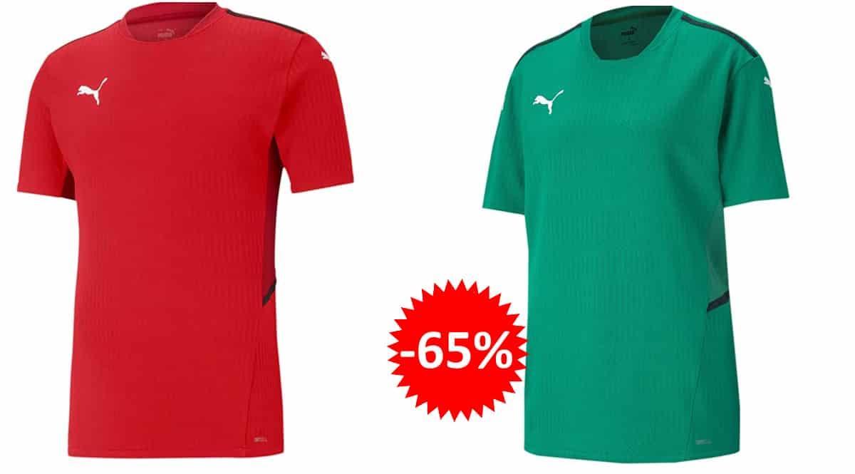 Camiseta Puma Teamcup barata, camisetas de marca baratas, ofertas en ropa, chollo