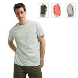 Camiseta básica Esprit barata, camisetas de marca baratas, ofertas en ropa