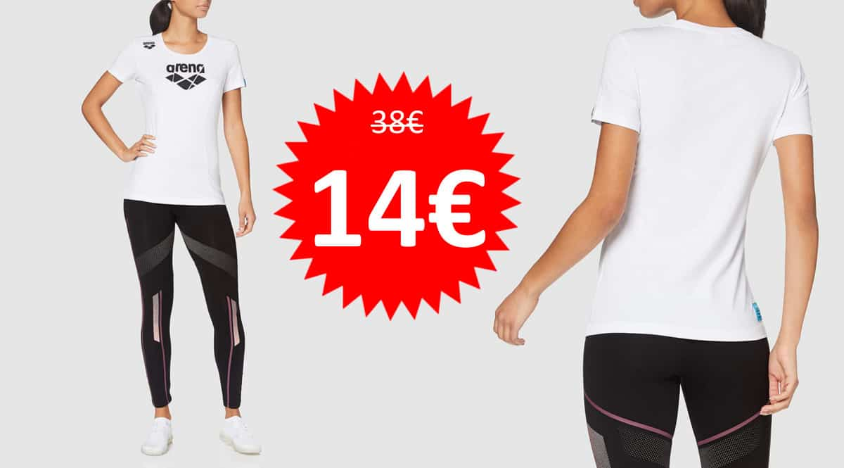 Camiseta para mujer Arena TE barata. Ofertas en ropa de marca, ropa de marca barata, chollo