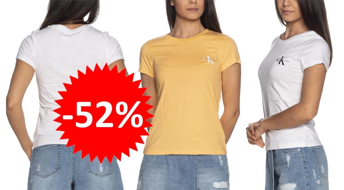 Camisetas para mujer Calvin Klein baratas. Ofertas en ropa de marca, ropa de marca barata, chollo