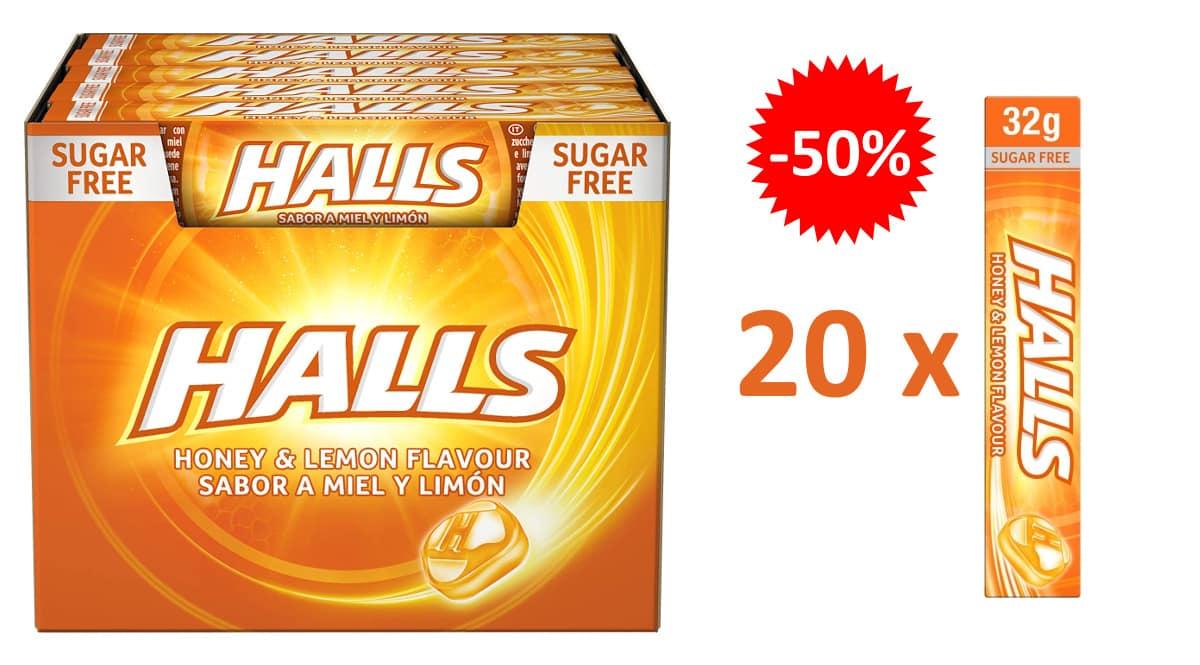 Caramelos Halls Miel y Limón baratos, caramelos baratos, ofertas en supermercado chollo
