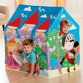 Casita de juegos Intex Castillo Medieval barato, juguetes baratos, ofertas para niños