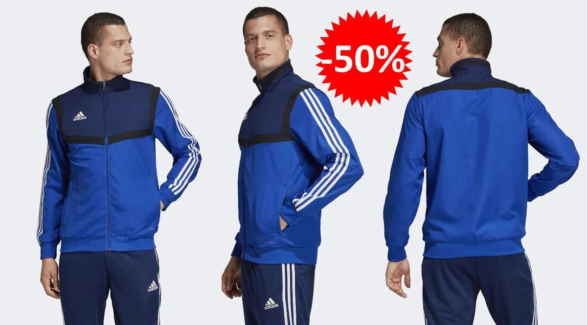 Chaqueta Adidas Tiro 19 barata, chaquetas de marca baratas, ofertas en ropa, chollo