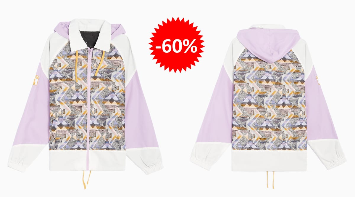 Chaqueta Clottee by Clot Jacquard Colorblock barata, ropa de marca barata, ofertas en chaquetas chollo