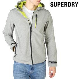 Chaqueta Superdry Hooded Softshell barata, chaquetas Softshell de marca baratas, ofertas en ropa