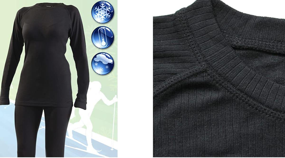 Conjunto de ropa térmica Ultrasport Avanced barato, ropa interior térmica barata, ofertas en ropa, chollo