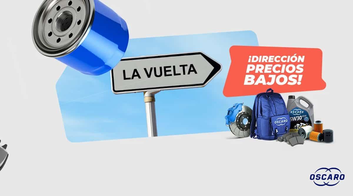 Dirección Precios Bajos Oscaro - La Vuelta, chollo