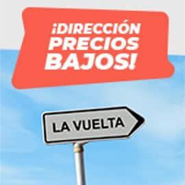 Dirección Precios Bajos Oscaro - La Vuelta