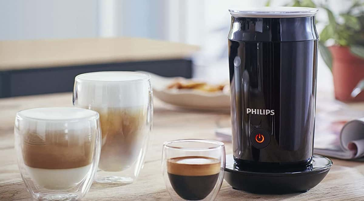 Espumador de leche Philips Milk Twister barato, espumadores de leche de marca baratos, ofertas hogar y cocina, chollo