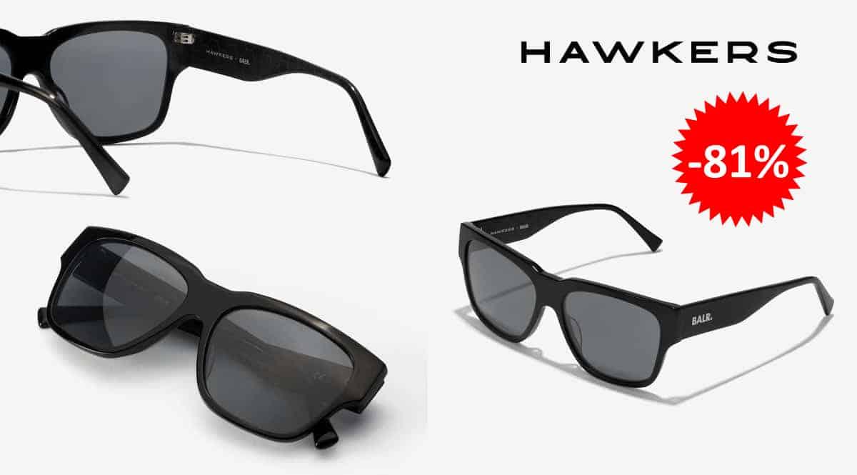Gafas de sol Hawkers x Barl Premier baratas, complementos baratos, ofertas en gafas de chollo