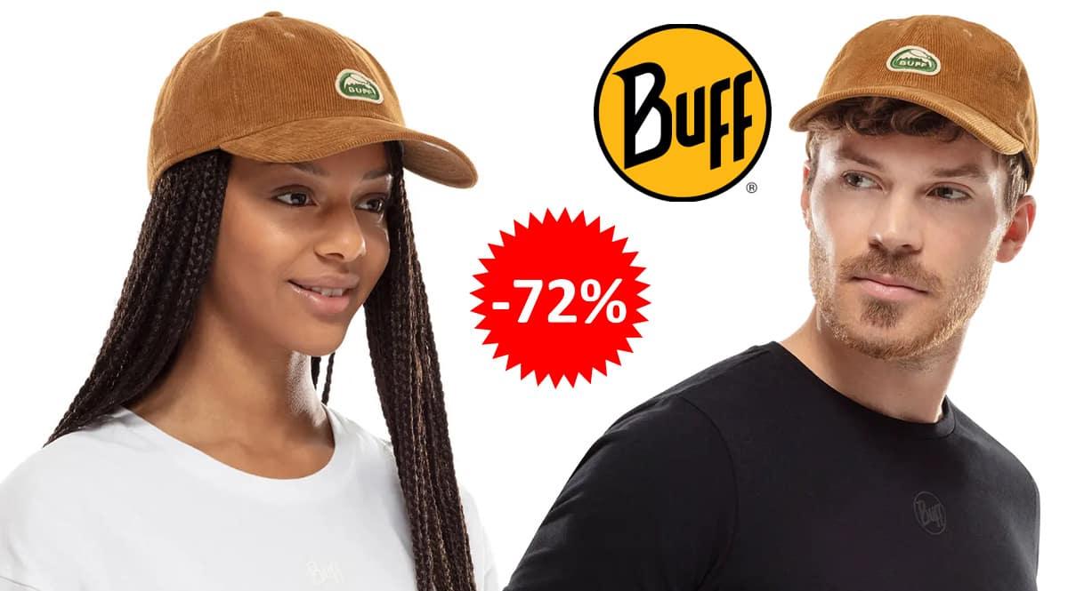 Gorra Buff Solid barata, ropa de marca barata, ofertas en complementos chollo