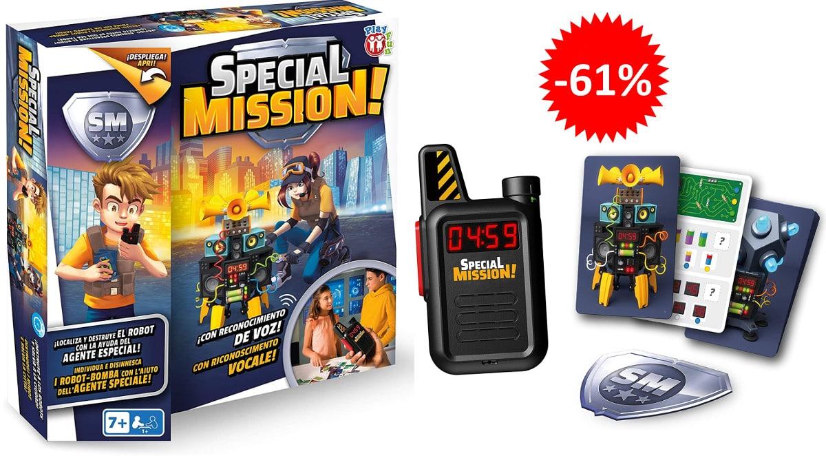 Juego de mesa IMC Toys Special Mission barato, jueguetes baratos, ofertas para niños chollo