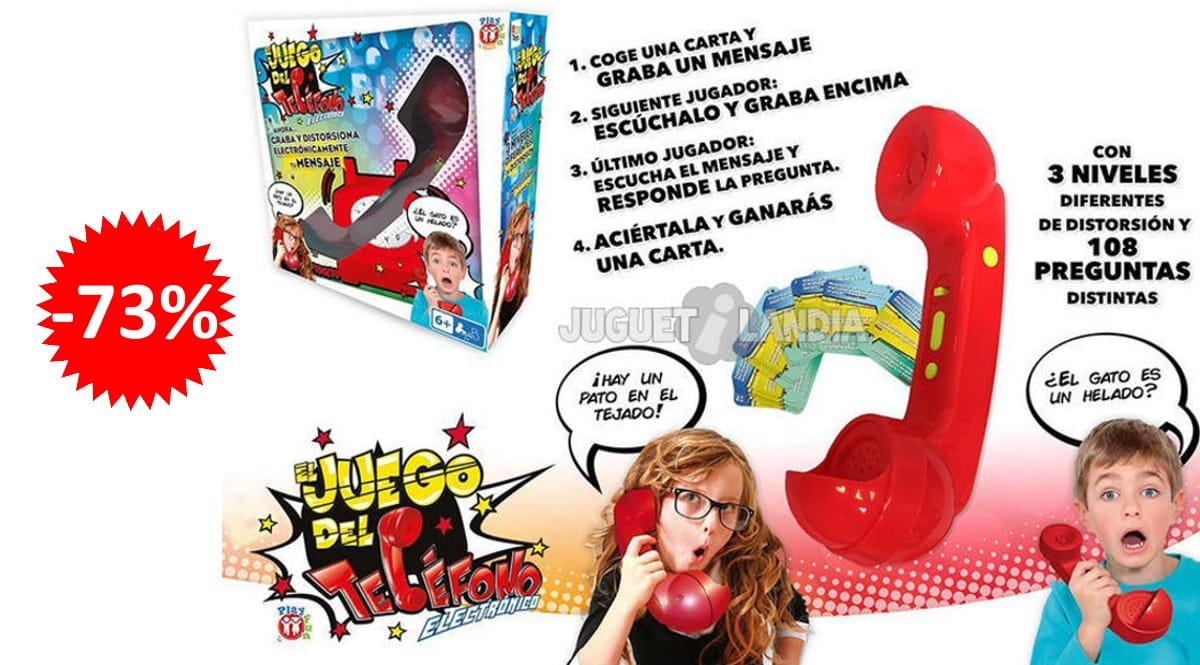 Juego del teléfono IMC Toys barato, juegos de marca baratos, ofertas para niños, chollo