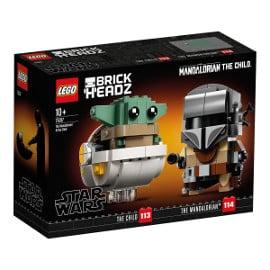 ¡Precio mínimo histórico! LEGO Star Wars – El Mandaloriano y el Niño sólo 14.49 euros.