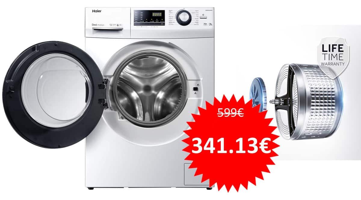Lavadora Haier HW90-B14636N-IB barata. Ofertas en electrodomésticos, electrodomésticos baratos, chollo