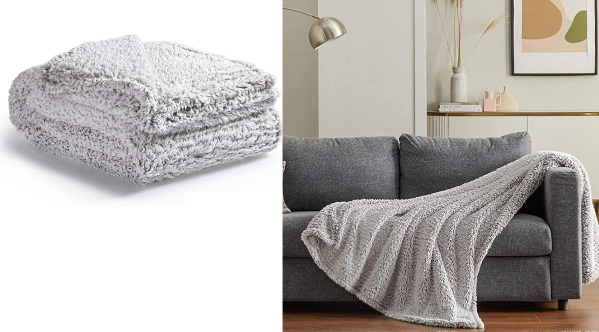 Manta polar Bedsure barata, mantas de marca baratas, ofertas hogar