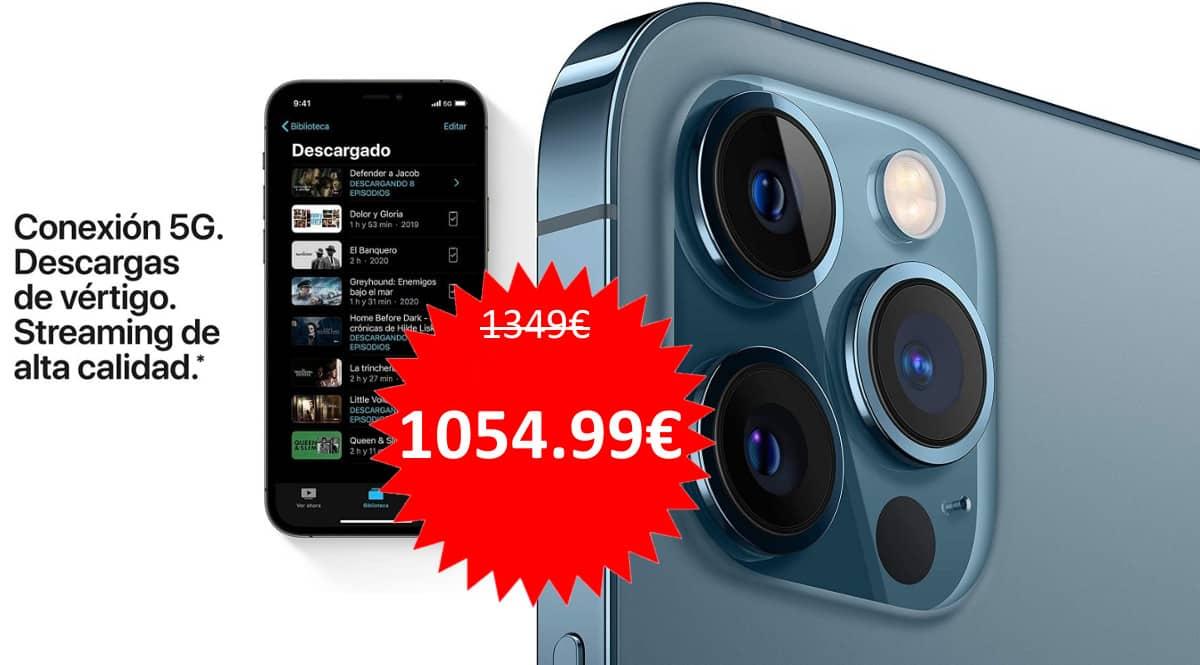 Móvil Apple iPhone 12 Pro Max 256GB barato. Ofertas en móviles, ofertas en iPhone, móviles baratos, iPhone barato, chollo