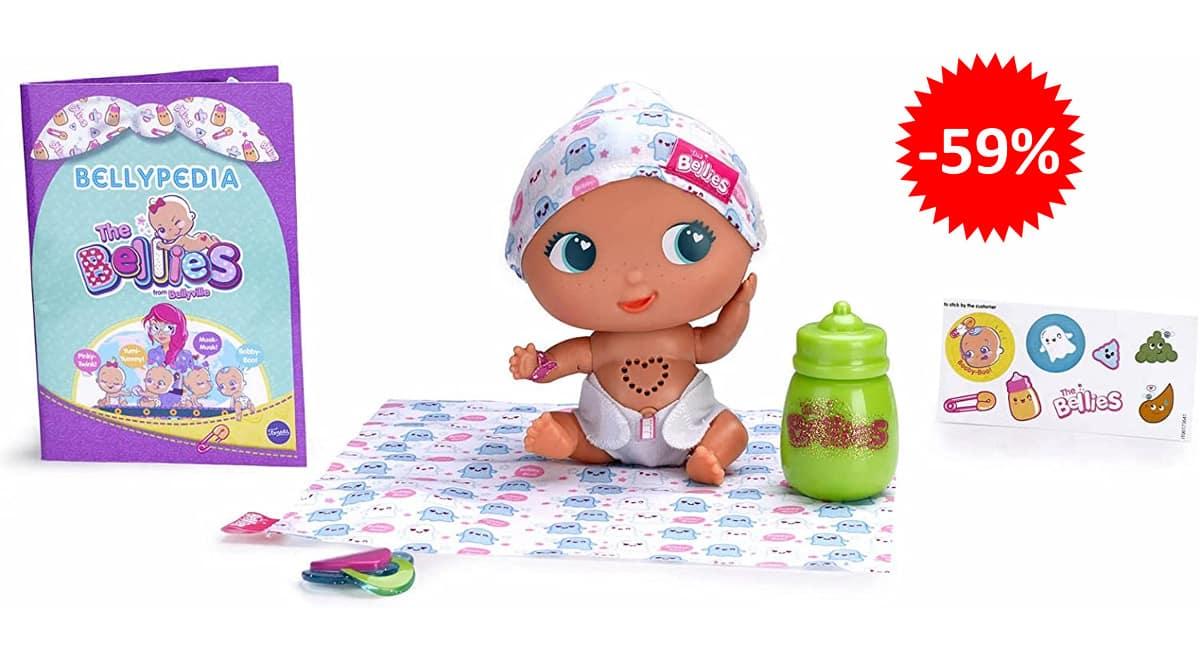 Muñeco interactivo The Bellies Bobby-Boo barato, juguetes baratos, ofertas para niños chollo