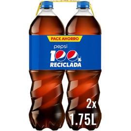 ¡¡Chollo!! Pack de 2 botellas Pepsi de 1.75L cada una sólo 1.89 euros.