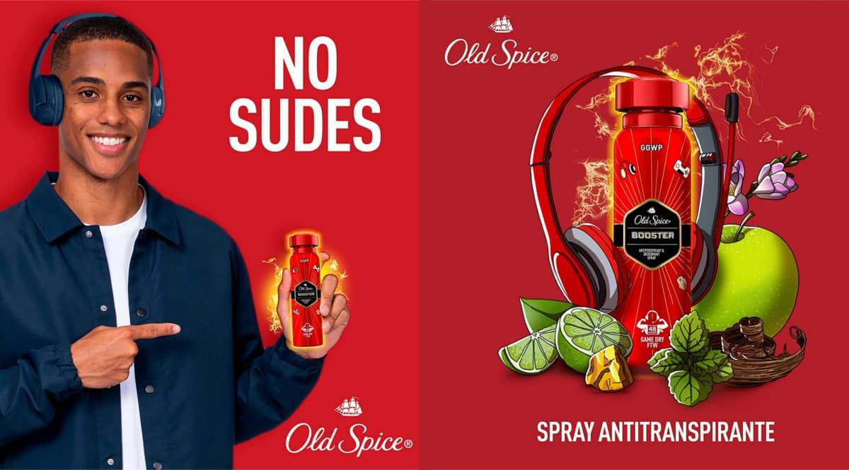 Pack de 3 desodorantes Old Spice Booster barato. Ofertas en supermercado, chollo