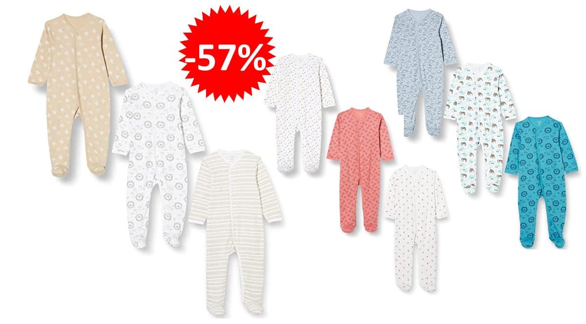 Pack de 3 pijamas para bebé Care Body baratos, pijamas de marca baratos, ofertas en ropa para bebé, chollo