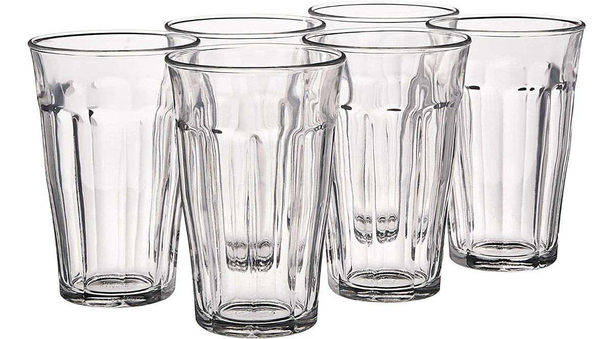 Pack de 6 vasos Duralex baratos, vasos baratos, ofertas para la casa chollo