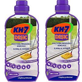 Pack fregasuelos insecticida KH-7 Desic barato, productos de limpiezade marca baratos, ofertas supermercado