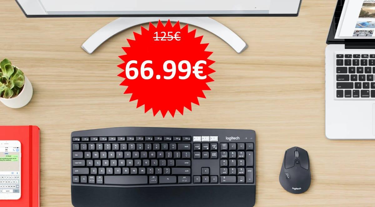 Pack teclado y ratón Logitech MK850 barato. Ofertas en teclados, teclados baratos, ofertas en ratones, ratones baratos, chollo