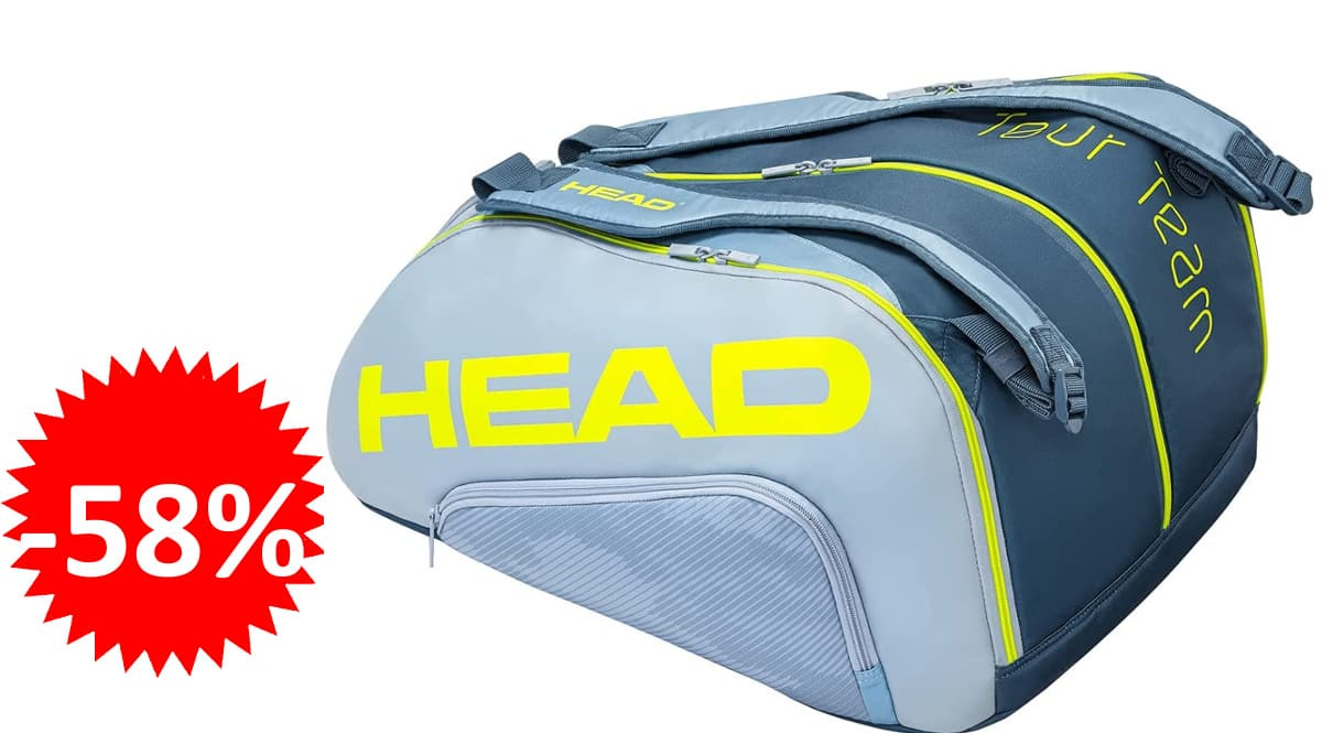 Paletero Head Tour Team Padel Monstercombi barato, bolsas para pádel baratas, ofertas en material deportivo, chollo