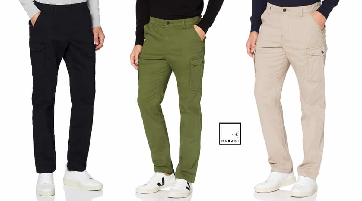 Pantalón chino Meraki barato, pantalones de marca baratos, ofertas en ropa, chollo