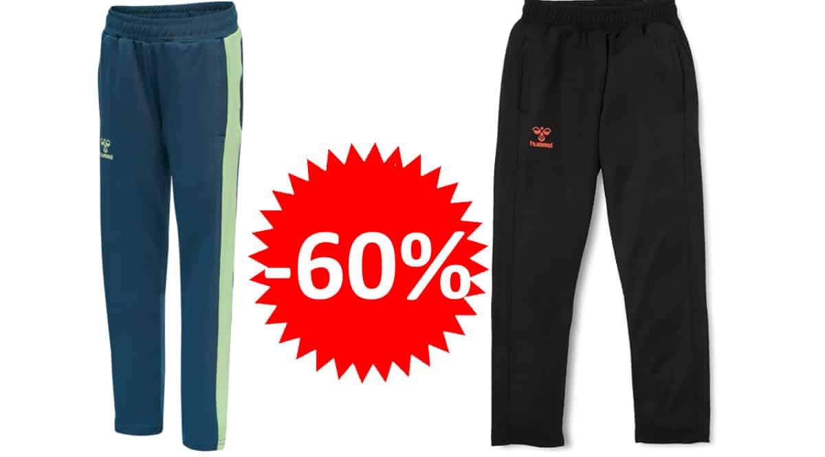 Pantalón para niño hummel Hmlaction barato, pantalones de marca baratos, ofertas en ropa, chollo