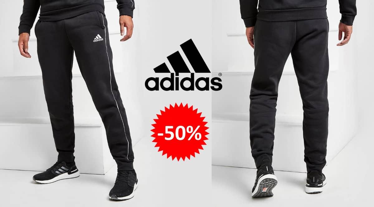 Pantalones de chándal Adidas Football Fleece baratos, ropa de marca barata, ofertas en pantalones chollo
