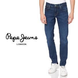 Pantalones vaqueros Pepe Jeans Hatch baratos, ropa de marca barata, ofertas en pantalones