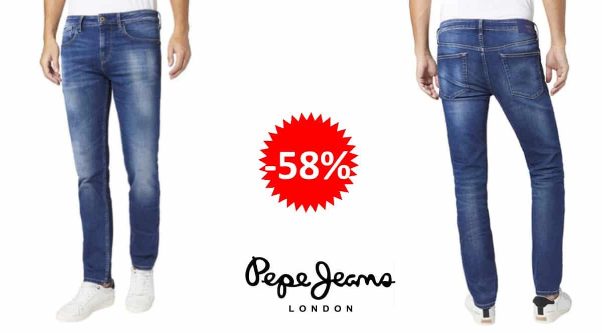 Pantalones vaqueros Pepe Jeans Hatch baratos, vaqueros de marca baratos, ofertas en ropa, chollo