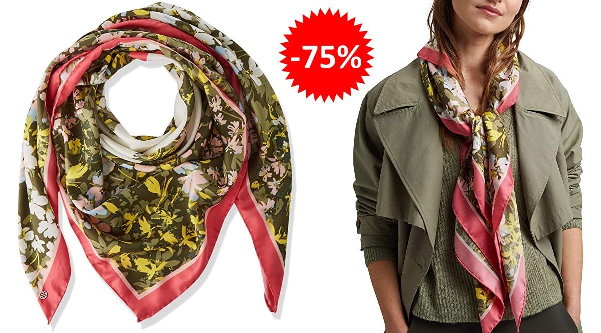 Pañuelo Esprit reciclado barato, ropa de marca barata, ofertas en complementos chollo