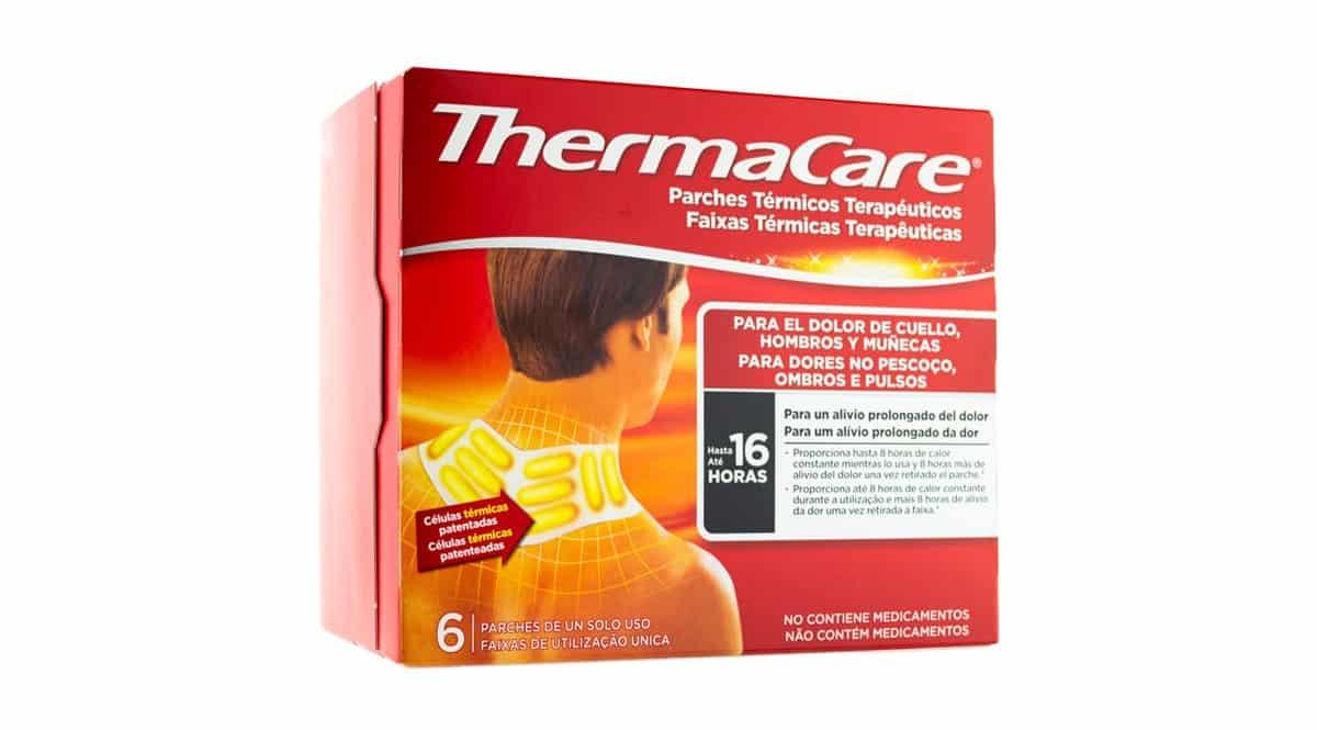 Parches térmicos Thermacare baratos, parches para aliviar dolores musculares baratos, ofertas salud, chollo