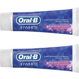 Pasta de dientes Oral-B 3D White barata, dentífrico barato, ofertas en supermercado
