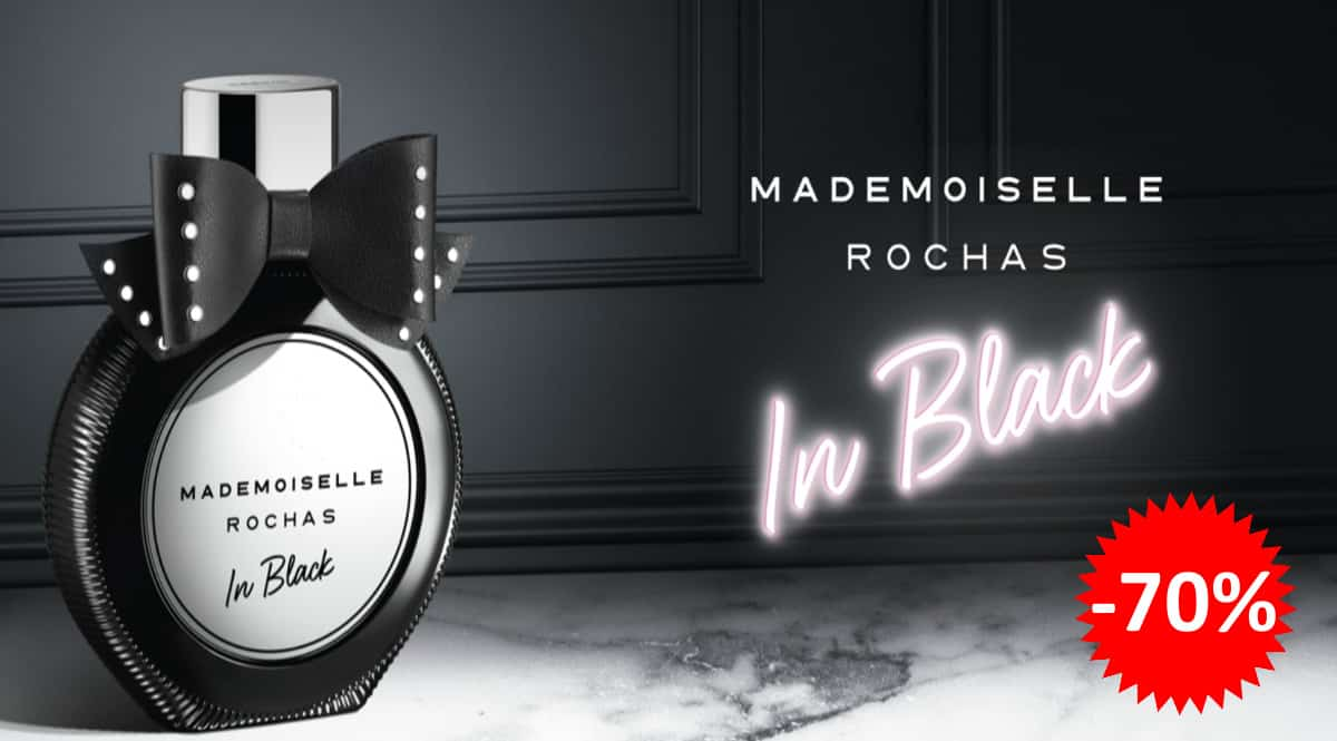Perfume Mademoiselle Rochas In Black barato, perfumes de marca baratos, ofertas en colonias, chollo