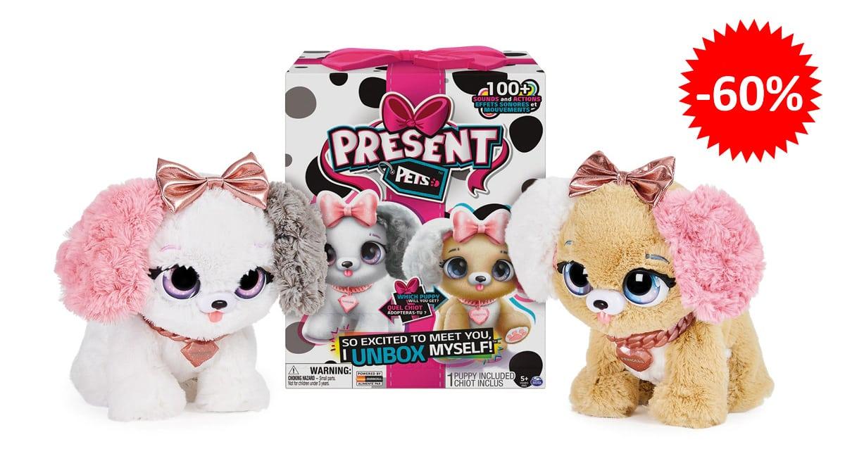 Perro interactivo Mi mascota regalo Fancy barato, juguetes baratos, ofertas para niños chollo