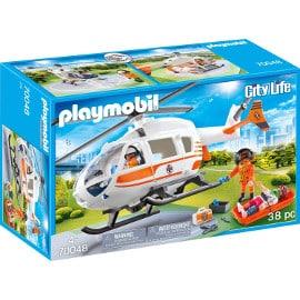 ¡Precio mínimo histórico! Playmobil City Life Helicóptero de Rescate sólo 22.95 euros.