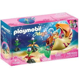 Playmobil Sirena con caracol de mar barato, juguetes baratos, ofertas para niños