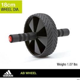 ¡¡Chollo!! Rueda abdominal Adidas Ab Wheel sólo 8.55 euros. 57% de descuento.
