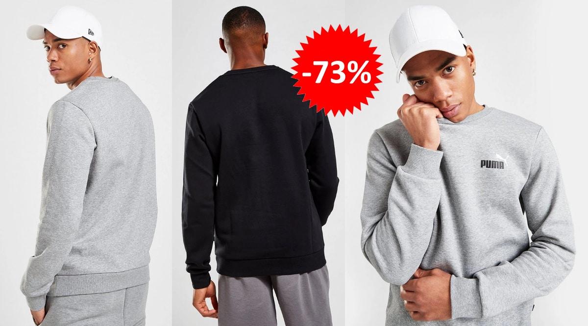 Sudadera Puma Core Small Logo barata, ropa de marca barata, ofertas en sudaderas chollo