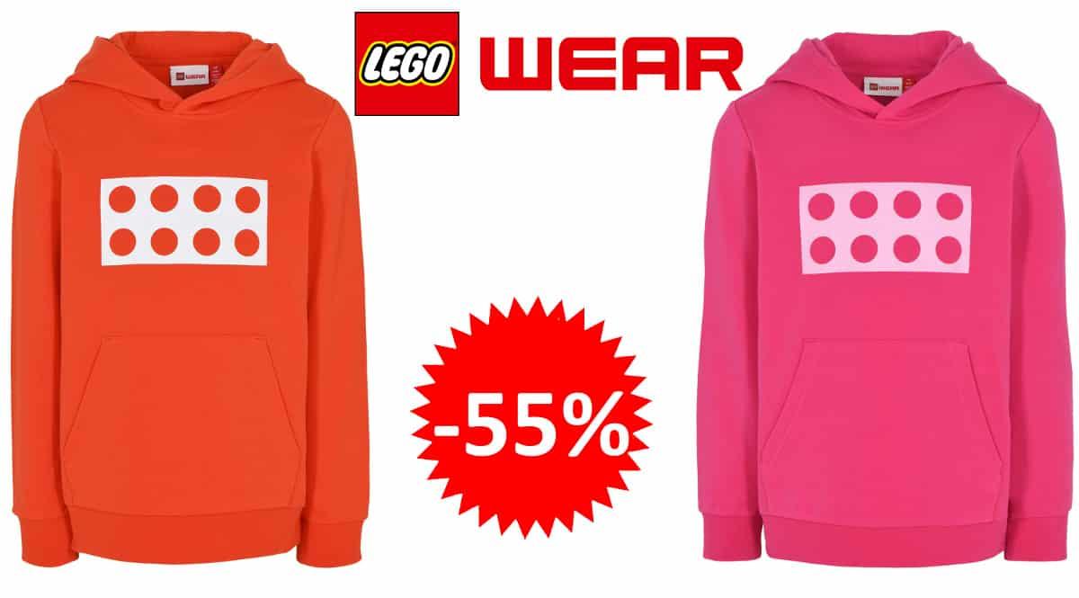 Sudadera de capucha Lego Wear barata, sudaderas de marca baratas, ofertas en ropa para niños, chollo
