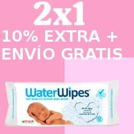 Toallitas para bebé Waterwipes baratas, toallitas de marca baratas, ofertas supermercado