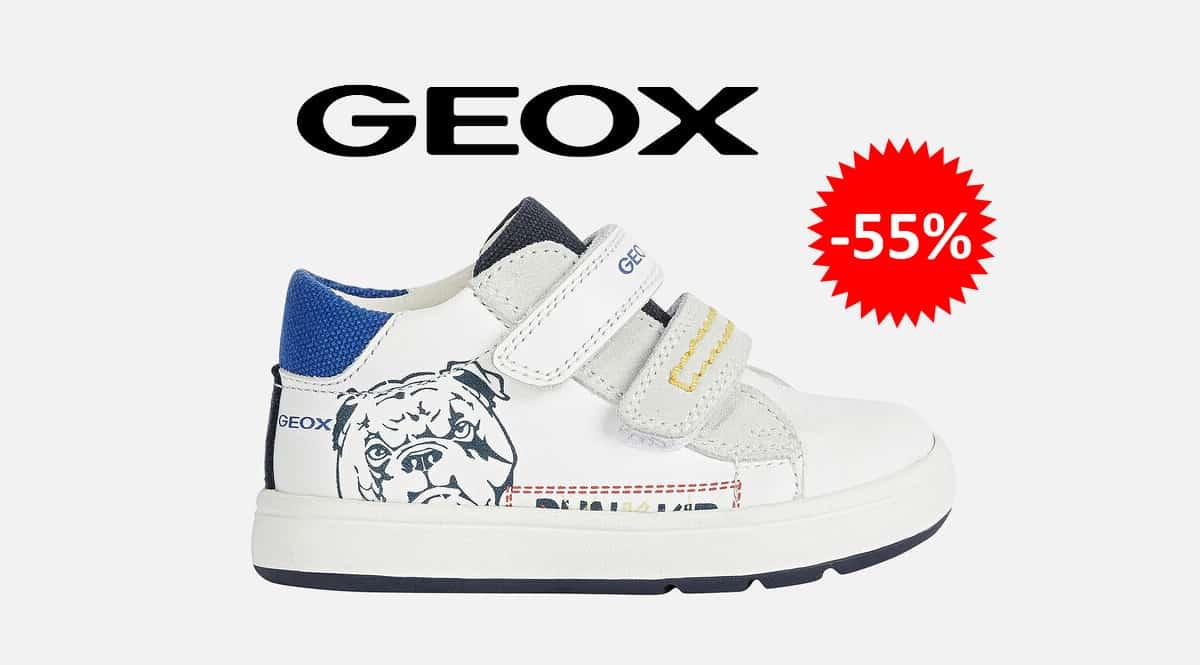 Zapatillas Geox B Biglia Boy D para niños baratas, calzado de marca barato, ofertas para niños chollo