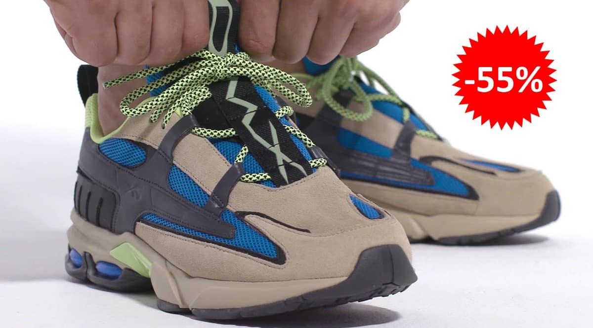Zapatillas Reebok DMX6 MMXX baratas, calzado de marca barato, ofertas en zapatillas chollo