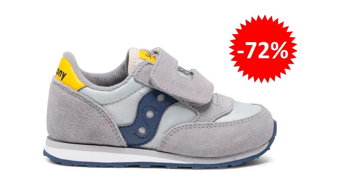 Zapatillas Saucony Jazz para bebé baratas, calzado de marca barato, ofertas para niños chollo
