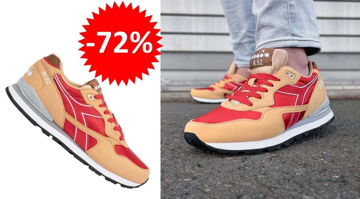 ¡¡Chollo!! Zapatillas para hombre Diadora N.92 II sólo 22 euros. 72% de descuento.