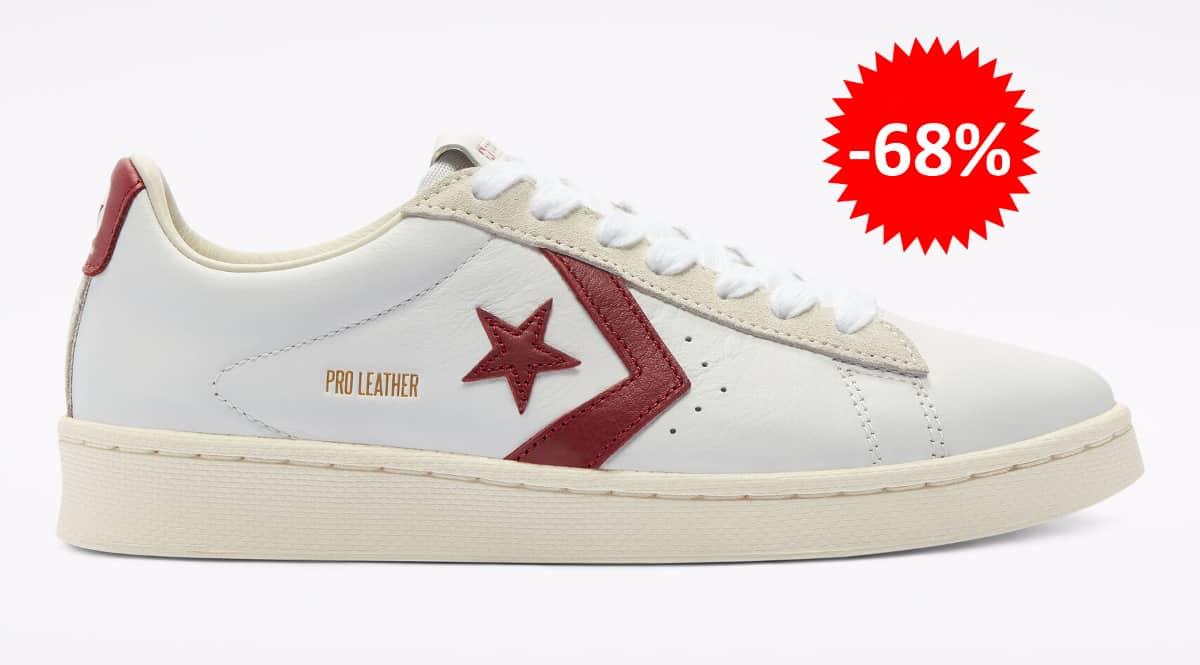 Zapatillas unisex Converse Pro Leather Low Top baratas, calzado de marca barato, ofertas en zapatillas chollo